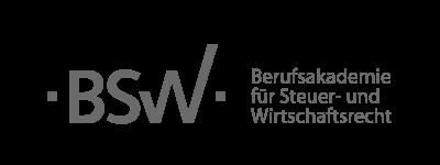 Das Logo des Unternehmens BSW